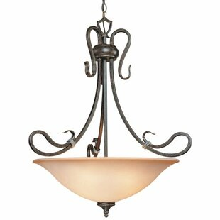 Fleur De Lis Living Wilkes 1-Light Bowl Pendant