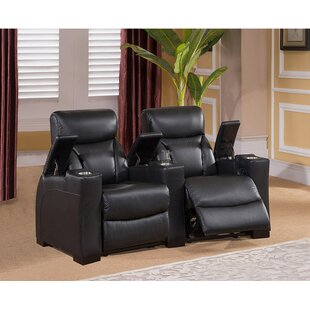 Red Barrel Studio Home Theater 2 Row Recliner