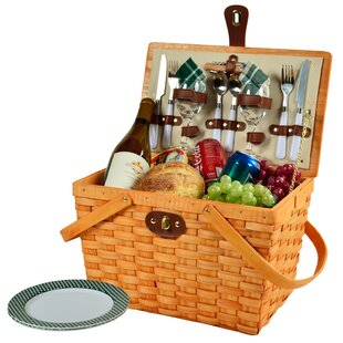 Frisco 2 Person Picnic Basket by Picnic at Ascot Spacial Price