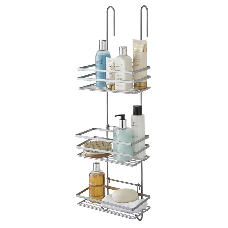 Wayfair Basics Metal Hanging Shower Caddy & Reviews | Wayfair.co.uk