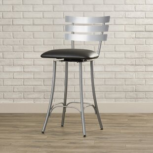 Bax 26.75 Swivel Bar Stool Brayden Studio