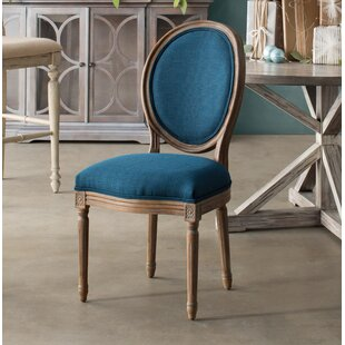 Haleigh Oval Back Upholstered Dining Chair