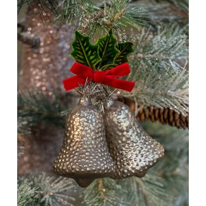Double Bells Ornament (Set of 6)