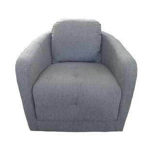 Ivy Bronx Aveza Swivel Barrel Chair