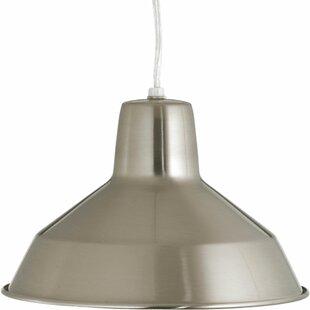 Avey 1-Light Cone Pendant by Ebern Designs