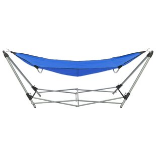 Foldable Camping Hammock With Stand By Freeport Park
