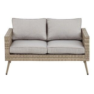 INK+IVY Avery Loveseat wit..