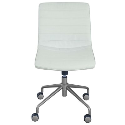 Adelaide Task Chair Color: White by Elle Decor