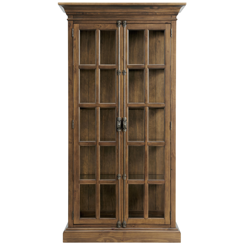 Farmhouse Rustic Curio China Cabinets
