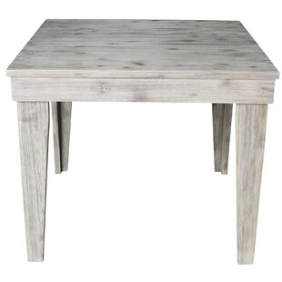 Gallant Modern Rustic Solid Wood 36 X 36 Dining Table by Gracie Oaks Today Sale Only