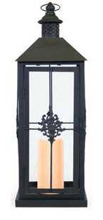 Metal Lantern By Fleur De Lis Living Outdoor Lighting