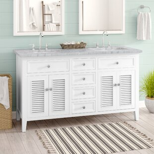 Compare prices Richards 60 Double Bathroom Vanity Set By Beachcrest Home