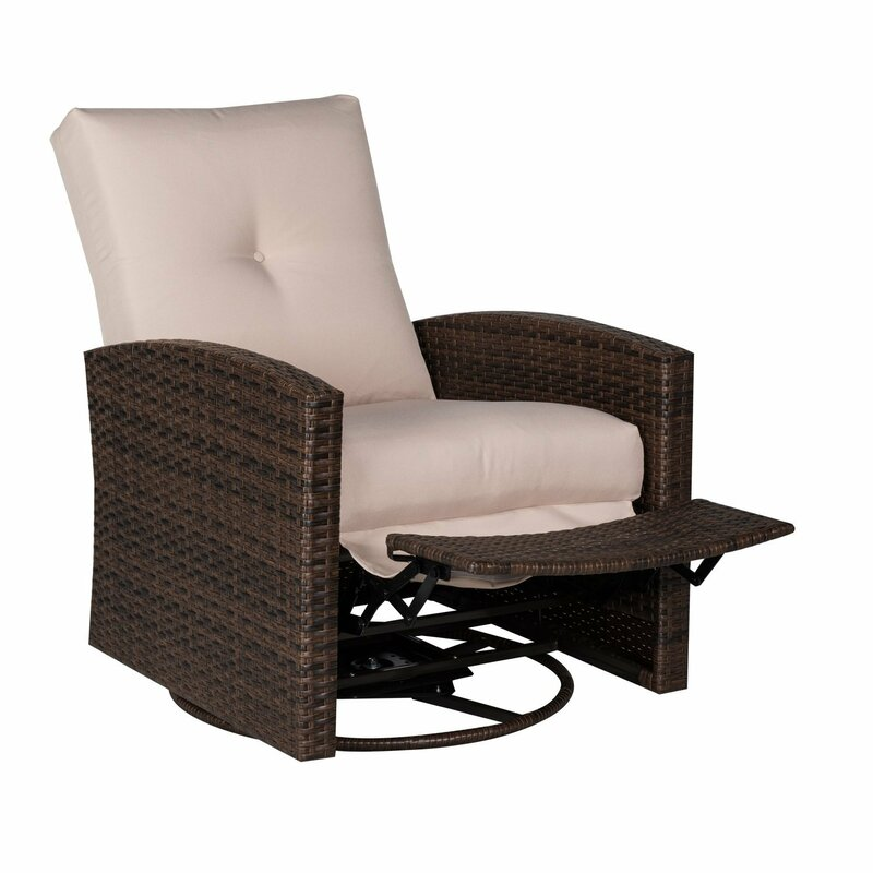 Deluxe Reclining Swivel Chair with Cushion  sc 1 st  Wayfair & Outsunny Deluxe Reclining Swivel Chair with Cushion u0026 Reviews ... islam-shia.org