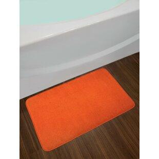 Orange Orange Bath Rug