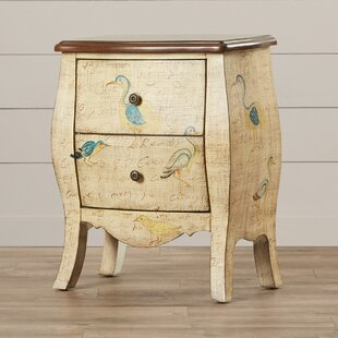 Painted Treasures 2 Drawer Accent Chest by Stein World