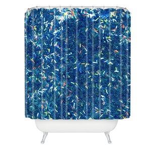 Kessinger Tinsel II Single Shower Curtain