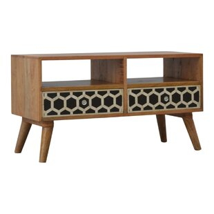 Rowan Solid Wood TV Stand By George Oliver