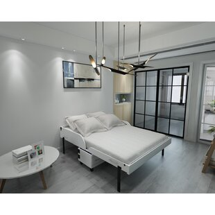Birdsall MidCentury Rolling Queen Murphy Bed with Mattress by Brayden Studio