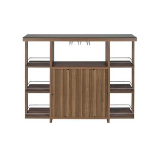 Fassett Bar with Wine Storage by Millwood Pines