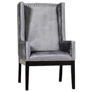 Reviews Stocksbridge Wingback Chair By Everly Quinn
