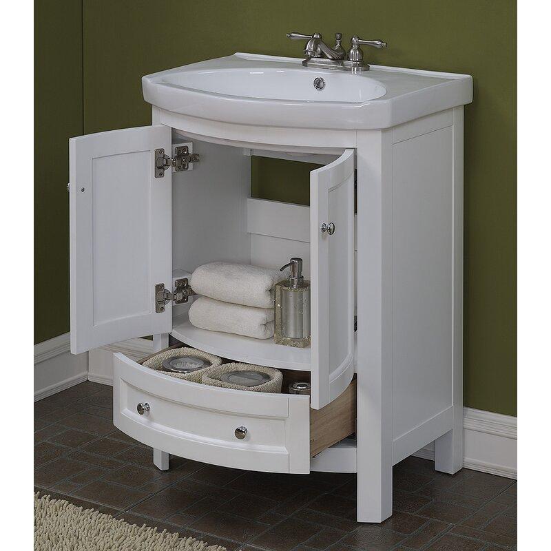 Charlton Home Brook Hollow 246 Single Bathroom Vanity Set