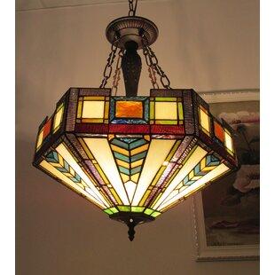 Loon Peak Hodgkins 3-Light Bowl Pendant
