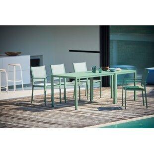 Nova Aluminium Dining Table By JanKurtz