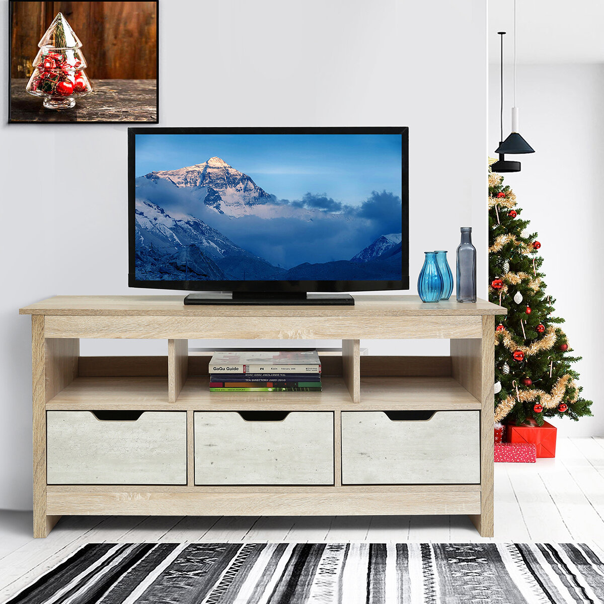 Kuhns Tv Stand For Tvs Up To 40