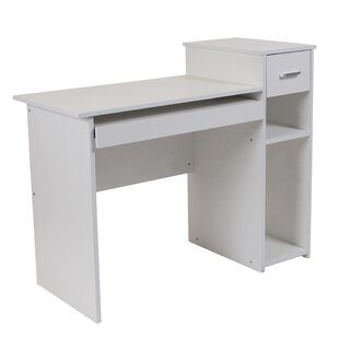 Manufactured Wood Solid Wood Computer Desk by Flash Furniture