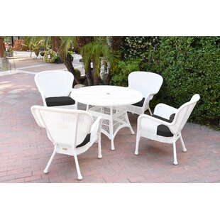 Bay Isle Home Smiley 9 Piece Dining Set with Cushions