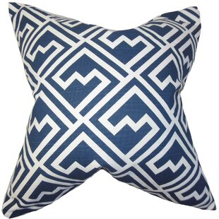 Armenta Geometric Floor Pillow