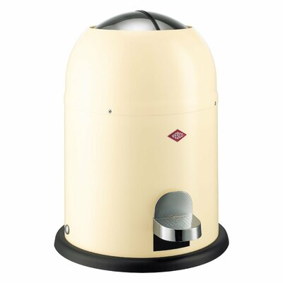 Wesco Single Master 2 Gallon Step On Trash Can Color: Almond
