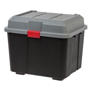 Storage Box With Hinged Lid   Wayfair
