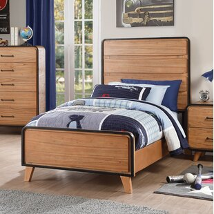 Carnamaddy Twin Panel Bed by Harriet Bee