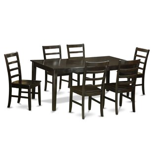 Burner 7 Piece Dining Set by Red Barrel S..