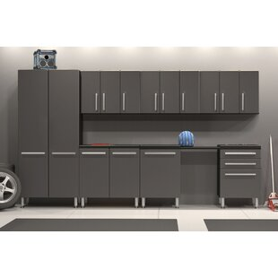 7' H x 30' W x 2' D 11-Piece Garage Storage Cabinet Set by Ulti-MATE