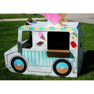 Find the perfect Imagine Wagon 2.21' x 4.33' Playhouse By Build A Dream Playhouses