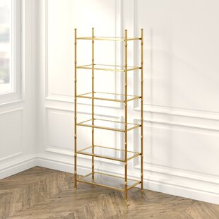 Britney 6 Tier Etagere Bookcase
