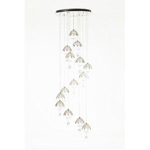 Hattem 14-Light Pendant by Stilnovo