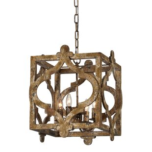 Whitney 4-Light Lantern Pendant by Opheli..