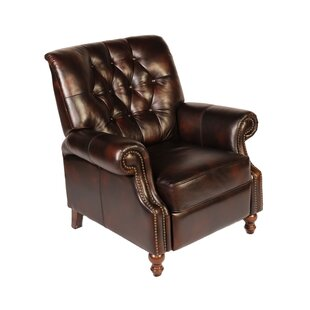 Leather Manual Recliner Lazzaro Leather