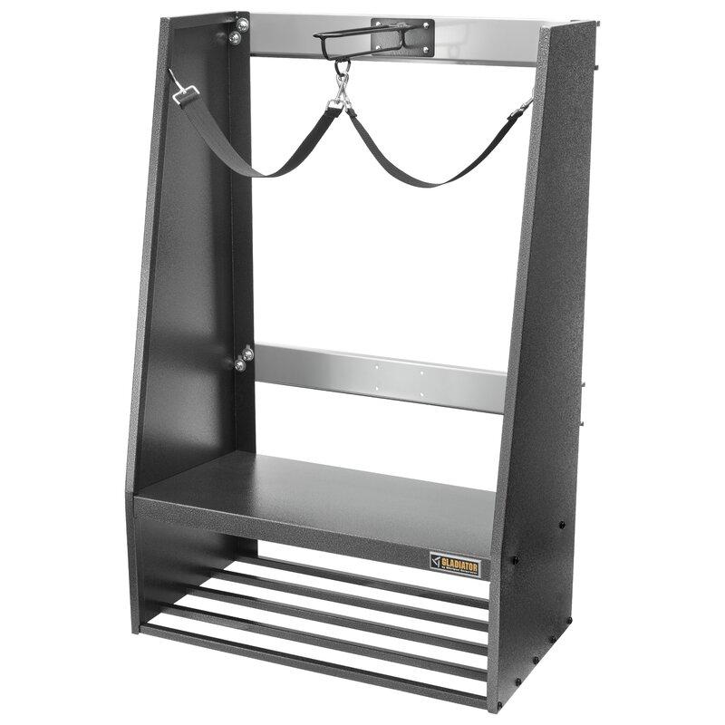 GREY Ski Storage Wall Rack Mount Display Hanger Holder Hanging Bracket Case