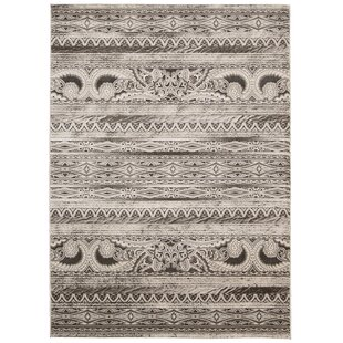 Buy clear Saliba Beige Area Rug By Bungalow Rose