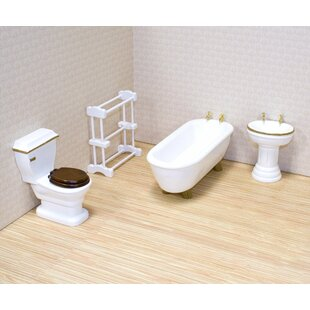 Dollhouse Bathroom Furniture by Melissa & Doug