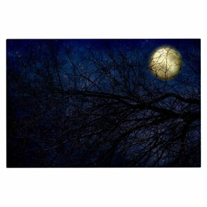 'Blue Moon' Celestial Decorative Doormat