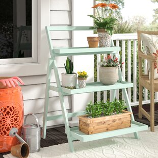 Today Only Sale Goreville Modern Outdoor Multi-Tiered Plant Stand Charlton Home