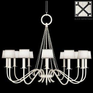 Fine Art Lamps Portobello Road 12-Light Shaded Chandelier