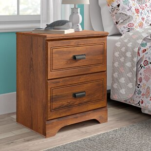 Myrna 2 Drawer Nightstand by Viv  Rae