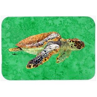 Koda Turtle Glass Cutting Board