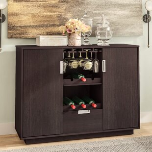 Attica 6 Bottle Bar with Wine Storage